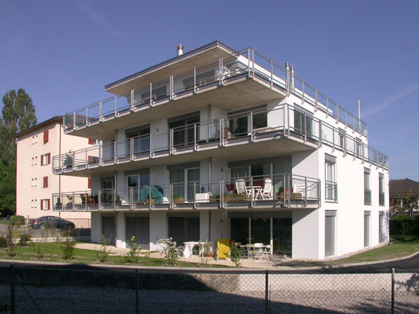 Immeuble de 6 appartements en PPE